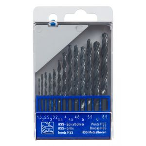 13 pc. HSS Drill Set for Metal