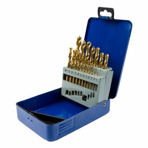100 X 19pc HSS Metal Set (Titanium Coated)