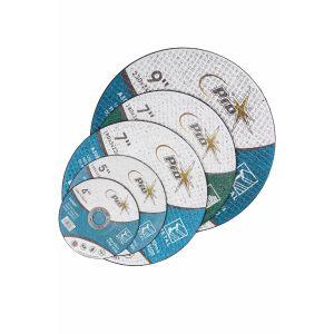 100 X Stone Grinding Discs - 180mm X 6mm X 22.2mm