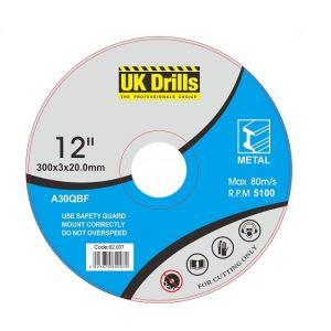 1000 x Metal Cutting Discs - 115mm x 1mm x 22.2mm